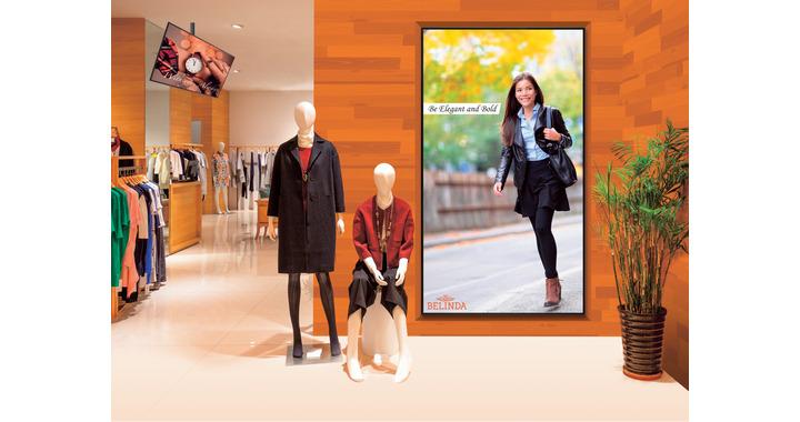 affichage ecran dynamique point de vente